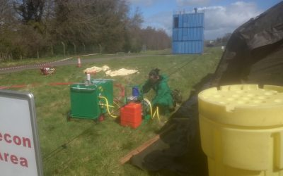 IBATECH in Defence Forces Ireland CBRN unit exercise